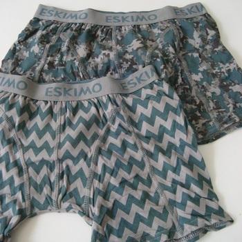 boxers pour garçon - esqueeze 16 ans - 2 pour 11.90€