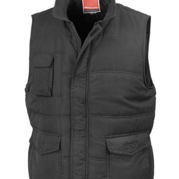 veste sans manches ou bodywarmer multipoches pour homme