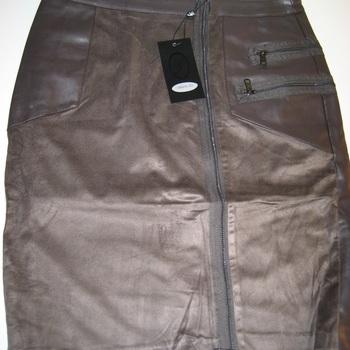 jupe simili cuir pour dame en PROMO - 34 à 42