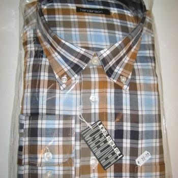 chemise longues manches pour homme - grandes tailles : jusque 8XL - # rouge ou ocre