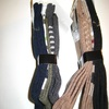 chaussettes engineering pour homme avec 76% coton : 3 pour 3.20€ - 39/42 : les 2 coloris - 43/46 tons brun