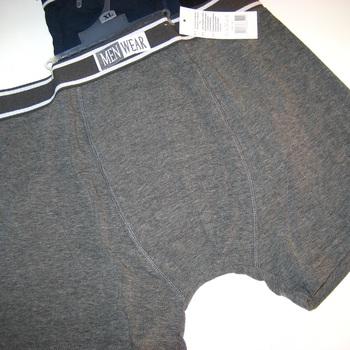 shorty coton men wear pour homme - noir, marine ou gris à petits prix
