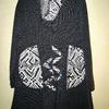 pull long tricot avec écharpe et poches- grandes tailles pour dame EN PROMO