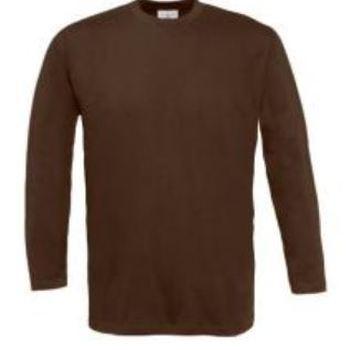t-shirt coton longues manches pour homme - B&C
