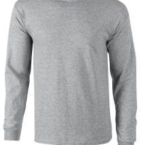 t-shirt coton longues manches pour homme - gildan