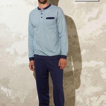 pyjama coton jersey pour homme - Bill - reste 3XL & 4XL