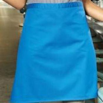 tablier carré polyester-coton 70*50cm - différents coloris