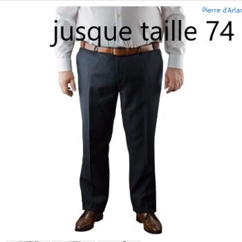 Pantalons et jeans grandes tailles